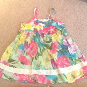 Baby Nay floral dress with bottoms - 4T